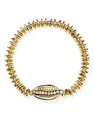 Aqua Pave Shell Bracelet - 100% Exclusive