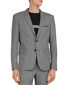 The Kooples - Tiniest Squares Classic Fit Blazer