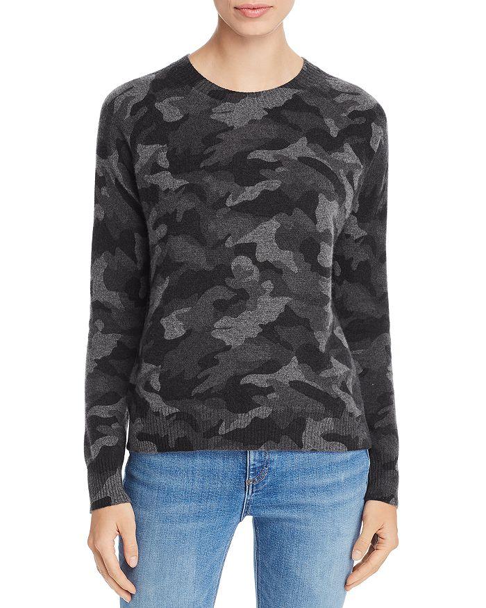 88a096ff2034c Camo Crewneck Cashmere Sweater - 100% Exclusive