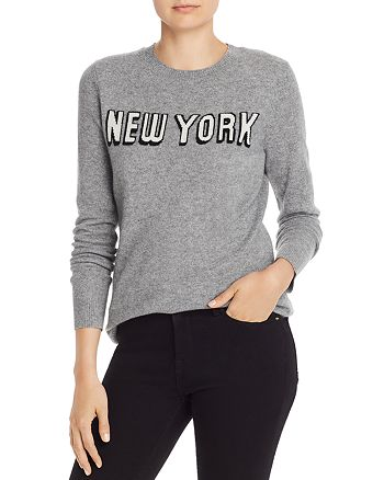 AQUA New York Cashmere Sweater 100% Exclusive | Bloomingdale's