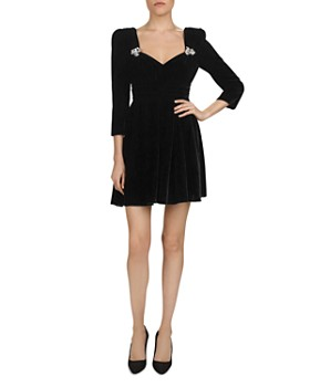 The Kooples - Velvet Mini Dress