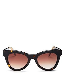 Le Specs Luxe - Women's Dernier Cri Cat Eye Sunglasses, 50mm