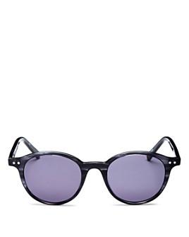 Le Specs Luxe - Unisex Equinox Round Sunglasses, 49mm