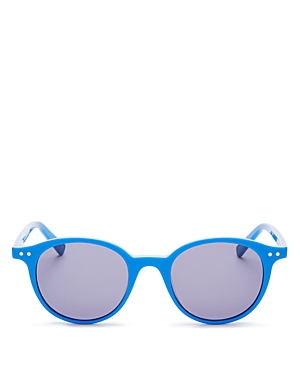 Le Specs Luxe Unisex Equinox Round Sunglasses, 49mm