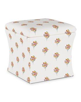 Cloth & Company - Emilie Storage Ottoman