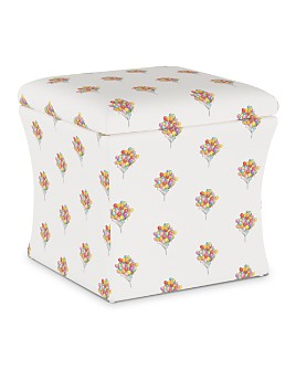 Cloth & Company - Emilie Storage Ottoman
