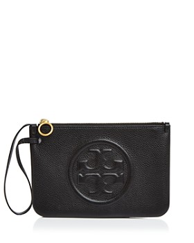 Tory Burch - Perry Bombe Medium Leather Wristlet