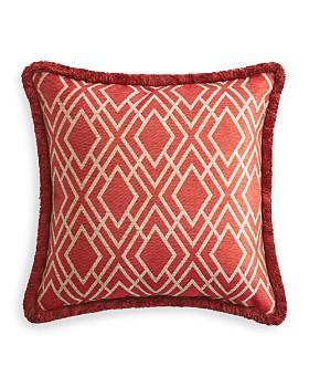"Rose Tree - Harrogate Woven Decorative Pillow, 18"" x 18"""
