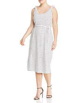 JUNAROSE Plus - Marbelle Striped Midi Dress