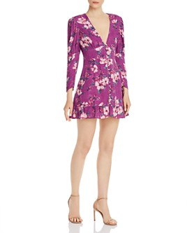 Rahi - Wren Reese Floral-Print Mini Dress