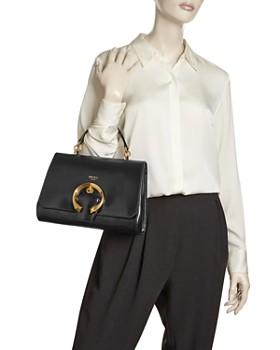 Jimmy Choo - Madeline Medium Top-Handle Leather Handbag