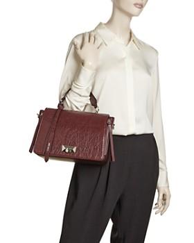 Jimmy Choo - Helia Medium Leather Shoulder Bag