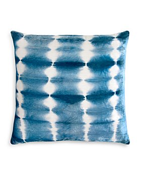 "Kevin O'Brien Studio - Rorschach Velvet Decorative Pillow, 18"" x 18"""