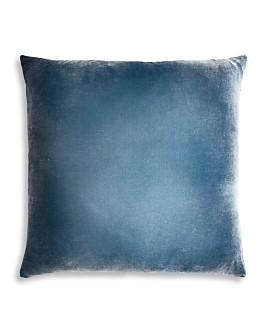"Kevin O'Brien Studio - Ombre Velvet Decorative Pillow, 22"" x 22"""
