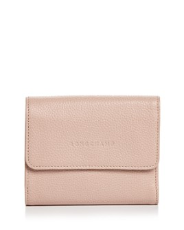 Longchamp - Le Foulonné Leather Compact Wallet