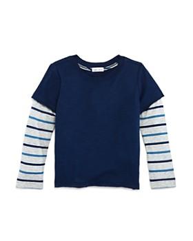 Splendid - Boys' Striped Layered-Look Tee - Little Kid