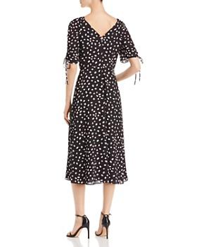kate spade new york - Mallow-Print Ruched-Detail Dress