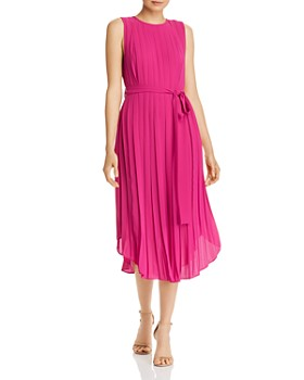 Fame and Partners - Lyra Pleated Midi Dress
