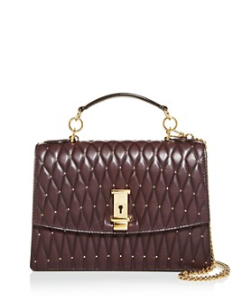 Bally - Lyla Quilted Leather Satchel