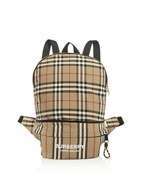 Burberry - Unisex Rex Icon Stripe Convertible Bag