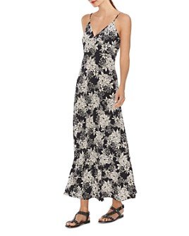 VINCE CAMUTO - Botanical Floral-Print Maxi Dress