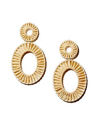 BAUBLEBAR - Kiera Raffia Statement Earrings