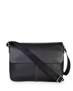BOCONI - Tyler Leather Folio Messenger Bag