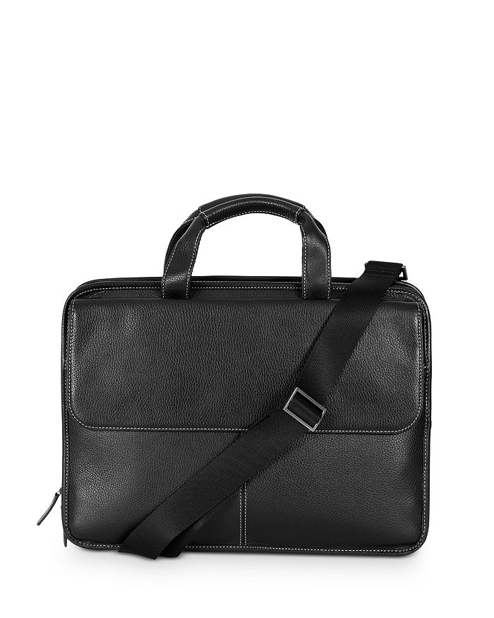 BOCONI - Tyler Leather Folio Briefcase
