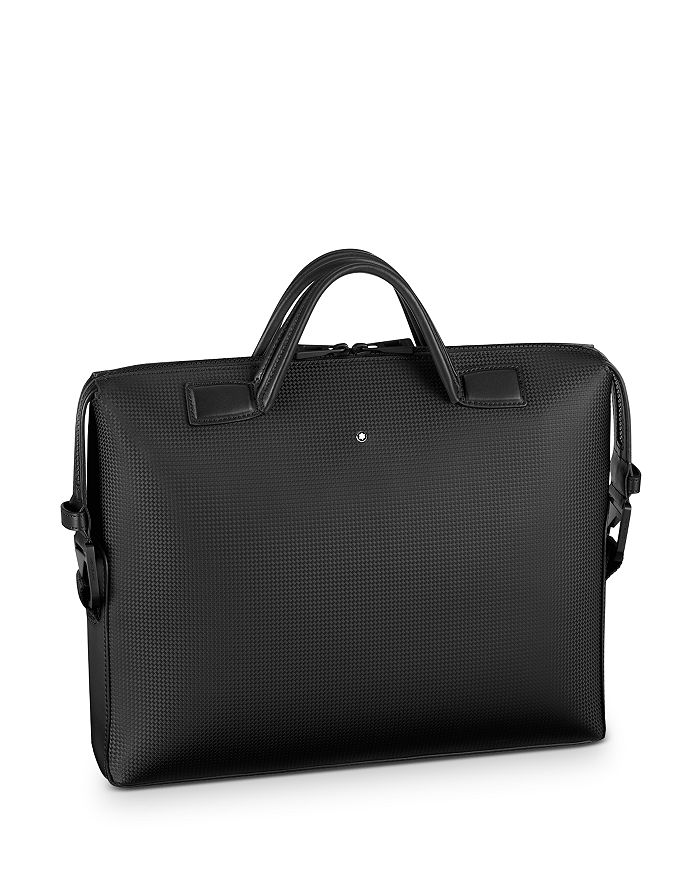 Montblanc Extreme 2.0 Leather Ultra Slim Document Case In Black
