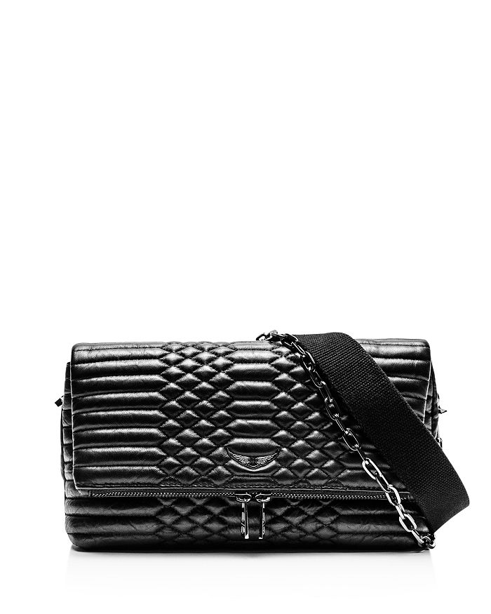 Zadig Voltaire Rocky Matte Scale Shoulder Bag Bloomingdale S