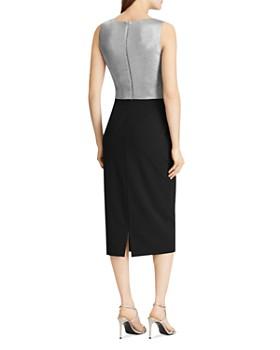 Ralph Lauren - Metallic Color-Block Sheath Dress