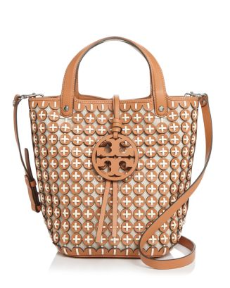 Leather Chainmail Tote by Tory Burch