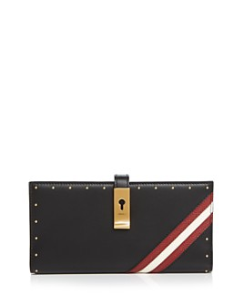 Bally - Amy Studded Leather Continental Wallet