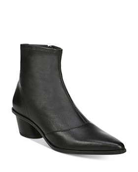 Via Spiga - Women's Odette Pointed-Toe Leather Booties