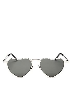 dc7186109323 Saint Laurent - Women's LouLou Heart Sunglasses, ...
