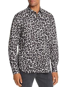 Paul Smith - Leopard Print Slim Fit Shirt