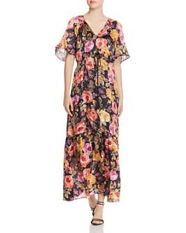 Kobi Halperin - Noa Sequined-Floral Maxi Dress