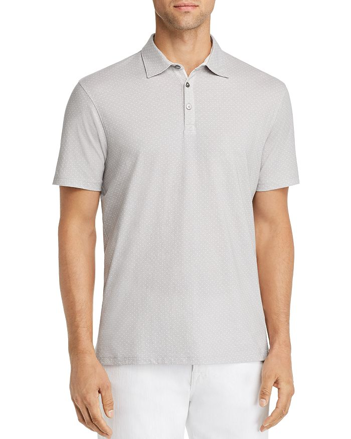 Zachary Prell - Southold Dot-Printed Slim Fit Polo Shirt