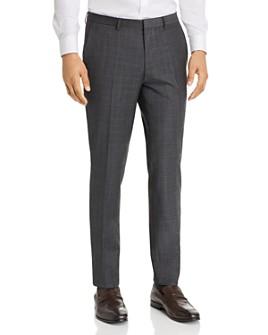 HUGO - Hesten Glen Plaid Extra Slim Fit Suit Pants