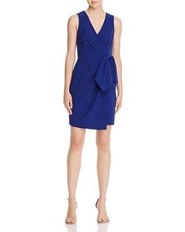 Eliza J - Faux-Wrap Dress