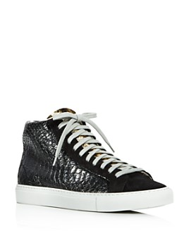 P448 - Women's F9 Star 2.0 High-Top Sneakers