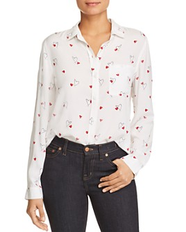 BeachLunchLounge - Heart-Print Top