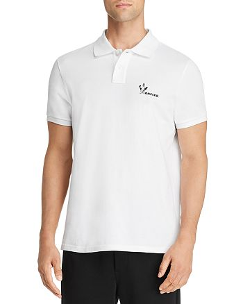 Moncler - Logo Regular Fit Piqué Polo Shirt