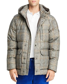 Moncler - Rolland Plaid Wool Down Parka
