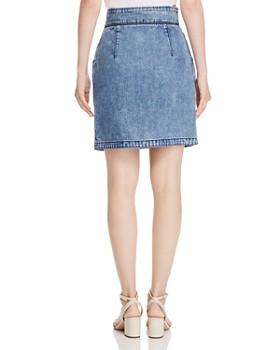 Rebecca Taylor - Contoured Denim Pencil Skirt