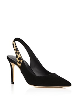 Giuseppe Zanotti - Women's Pointed-Toe Slingback Pumps