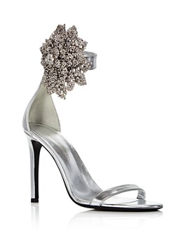 Giuseppe Zanotti - Women's Crystal-Embellished High-Heel Sandals