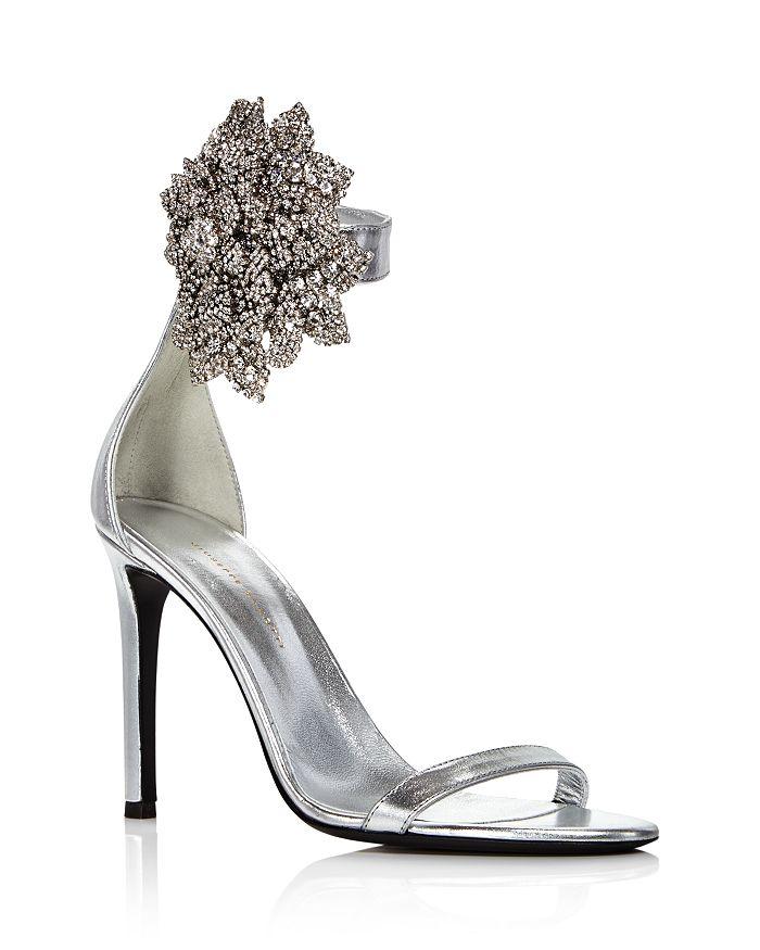 Giuseppe Zanotti - Women's Crystal-Embellished High-Heel Sandals