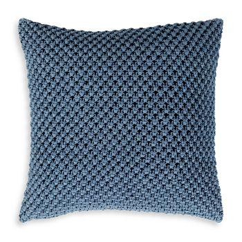 "Surya - Godavari Throw Pillow Denim, 22"" x 22"""