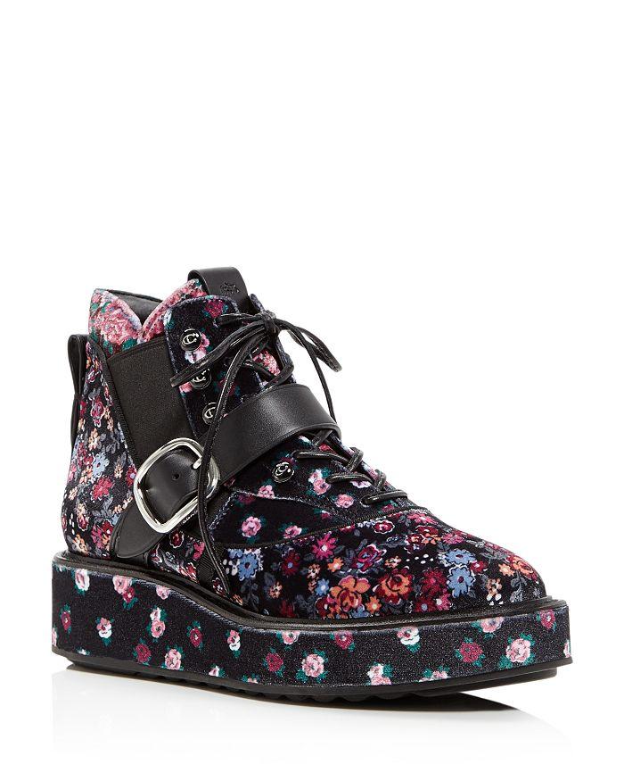 COACH - x Tabitha Simmons Women's Chelsea Wedge-Heel Hiker Boots